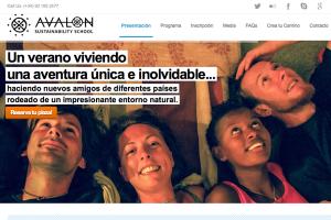 AVALON-SCHOOL, una escuela de sostenibilidad para adolescentes