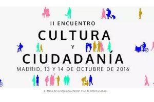 El encuentro Cultura y Ciudadanía abre nueva convocatoria